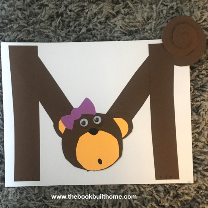 M is for Monkey Images.006